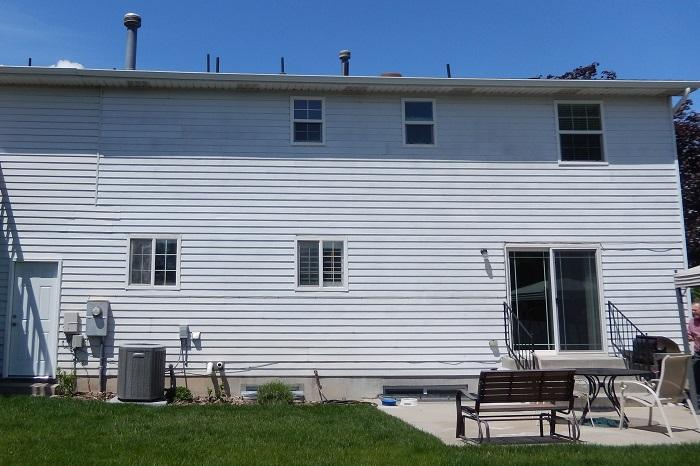 Before_Back exterior_Cape Patio | Renovation Design Group