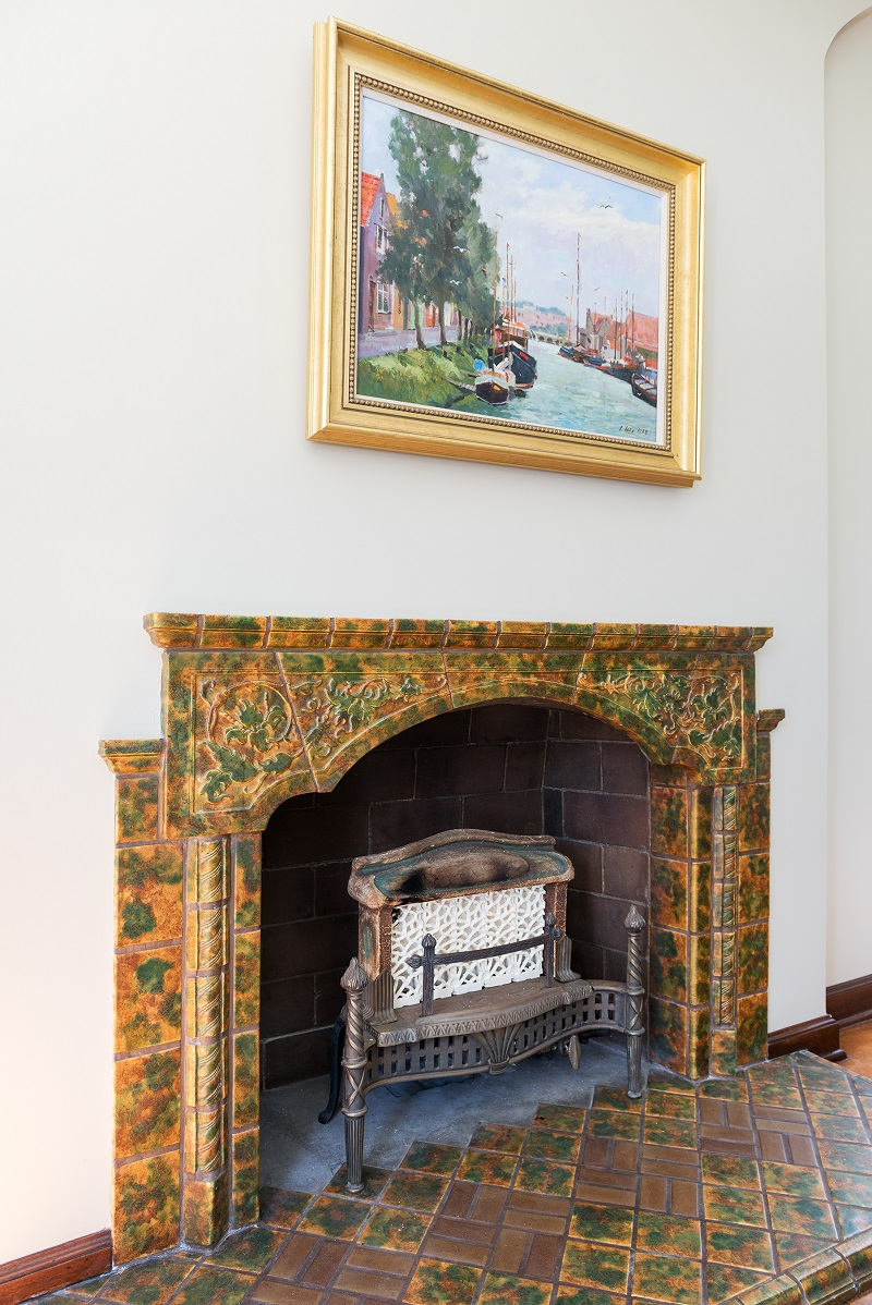 Restoration, Original Character, Clasic Tudor Designs, Fireplaces, Living Room, Tudor Restoration | Renovation Design Group