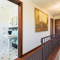 Hallway, Second Floor, Tudor, Decorative Railings | Renovation Design Group