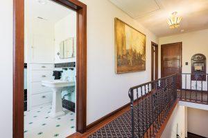 Hallway, Second Floor, Tudor, Decorative Railings | Renovation Design Group