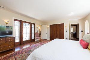 After, Master Bedroom, Tudor Windows, Tudor Doors, Master Suite | Renovation Design Group