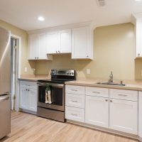 Mother in-law, basement Kitchen | Renovation Design Group