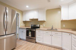 Mother in-law, basement Kitchen | Renovation Design Group
