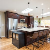 After Interior Kitchen Remodel, Modern Kitchen, MidCentury Home | Renovation Design Group