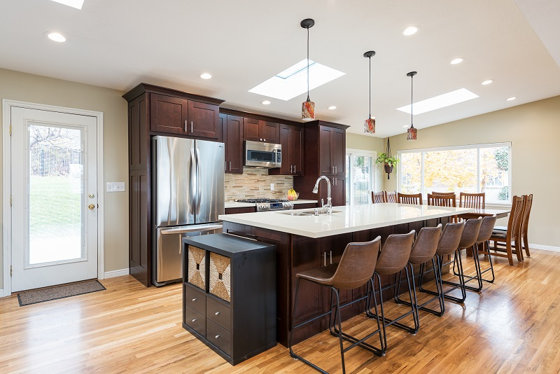 After an Interior Kitchen Remodel, Modern Kitchen, Modern Kitchen Remodels in a MidCentury Home