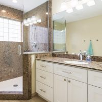 After remodeling the Interior Master Bathroom, Modern Bathroom Remodels