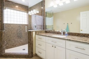 After remodeling the Interior Master Bathroom, Modern Bathroom Remodels