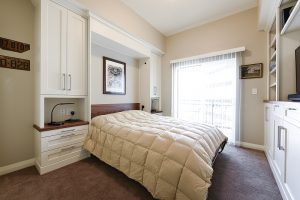 After Interior Guest Room Custom Murphy Beds Storage Option Condo Remodels Renovation Design Group
