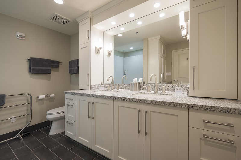 After Interior Master Bath Remodel Condominium Renovation Design Group