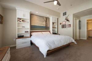 After Interior Master Bedroom Small Bedroom Remodel Condominium Renovation Design Group