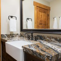 After_Interior_Bathroom_Granite Bathroom vanity_Modern Design | Renovation Design Group