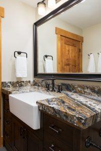After_Interior_Bathroom_Granite Bathroom vanity_Modern Design | Renovation Design Group