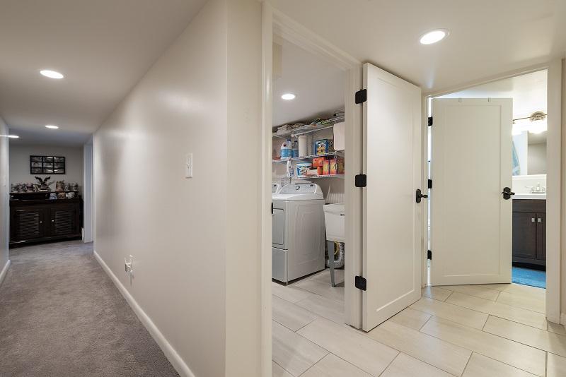 After, Interior, Laundry Room, BAsement Remodels, Bungalow Home   Renovation Design Group