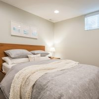 After_Basements_basement Bedroom_New Basement construction | Renovation Design Group