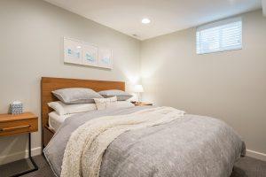 After_Basements_basement Bedroom_New Basement construction | Renovation Design Group