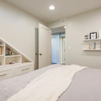 After_Interior_Basement_bedrooms_basement construction and remodels | Renovation Design Group