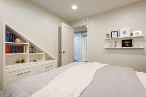 After_Interior_Basement_bedrooms_basement construction and remodels | Renovation Design Group