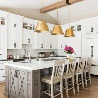 Modern traditional kitchen with farmhouse style to generate home remodeling ideas for clients
