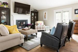 Modern traditional great room home remodel to generate home remodeling ideas of clients