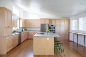 Kitchen ideas for a split level interior home renovation