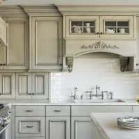 After remodel, Kitchen, Modern Upgrade, Hidden refrigerator, Modern elegance, Kitchen Upgrades, Marble counter top, elegant cabinets | Renovation Design Group