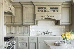After remodel, Kitchen, Modern Upgrade, Hidden refrigerator, Modern elegance, Kitchen Upgrades, Marble counter top, elegant cabinets | Renovation Design Group