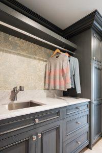 After, Mudroom, Laundry Room, Storage, Condo Storage | Renovation Design Group