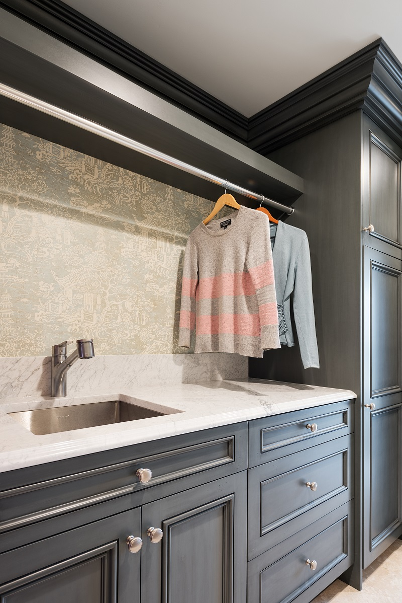 After, Mudroom, Laundry Room, Storage, Condo Storage | Renovation Design Group