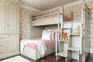 After, Bedroom, Childrens bedroom, playroom ideas, custom bunk beds, condos | Renovation Design Group