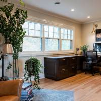 Home Office ideas with a corner desk