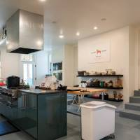 Industrial Kitchen at home