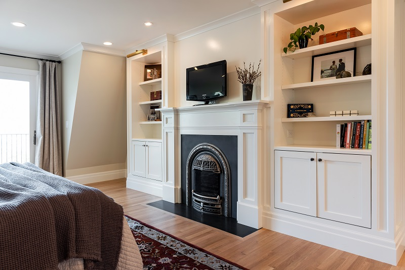 Master bedroom Fireplaces