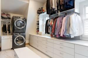 Laundry room ideas, closet ideas