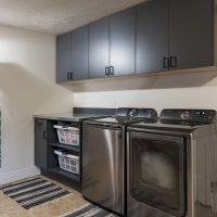 After, Interior, Laundry Room, Mudroom ideas, Smart Storage, Functionality | Renovation Design Group