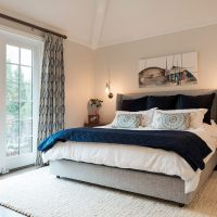 After, Interior, Bedrooms, Master Bedroom Ideas, High Ceilings, Tudor Home | Renovation Design Group