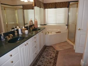 The Before Master Bath
