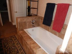 The before Bathroom remodel