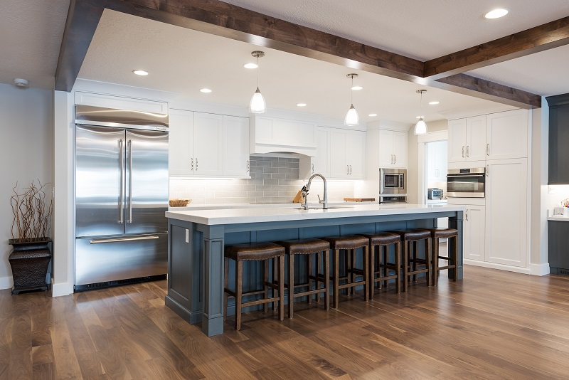 Kitchen Remodels, Great Rooms, Modern kitchen Islands, stainless, pantry ideas, open floor plan, large seating area | Renovation Design Group