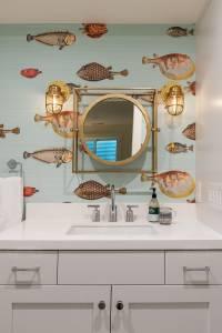 Fun wallpaper in your bathroom | Renovation Design Group