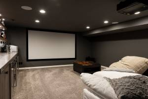 Man Cave, Den | Renovation Design Group