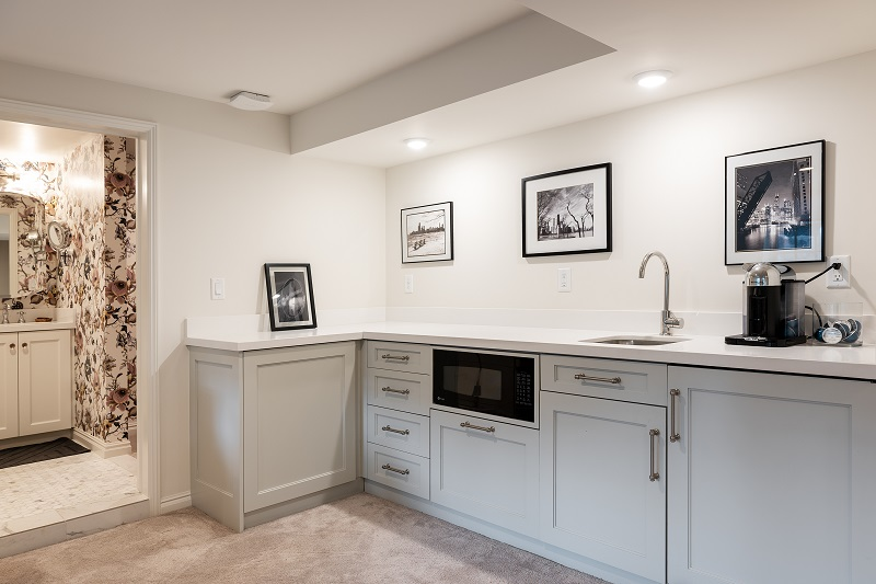 Guest Suite, Mother in-law apartment | Renovation Design Group
