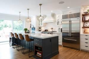 Modern Kitchen great room | Renovation Design Group