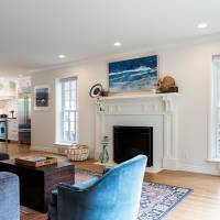 Open living room great room Contemporary | Renovation Design Group