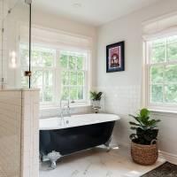 Master Bath free standing tub | Renovation Design Group