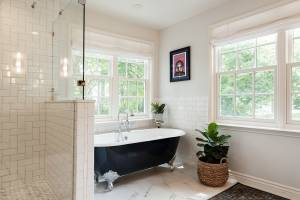 Master Bath free standing tub   Renovation Design Group