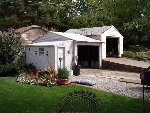 Before Bungalow Garage Remodels | Renovation Design Group