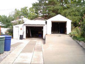 Before_Exterior Renovation_Garage Remodel_Garage Addition to Bungalow | Renovation Design Group