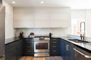 Contemporary kitchen remodel with modern kitchen design ideas