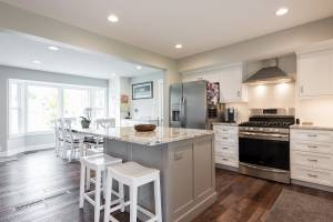 Cape Home, Open Kitchen, Great Rooms, Modern Kitchens | Renovation Design Group