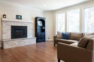 Family room ideas, natural light ideas, ceiling drop | Renovation Design Group